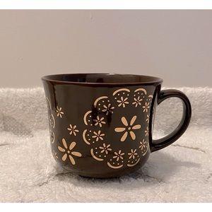 Retro 70s Floral Mug/Soup Bowl